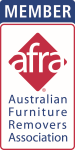 Southside Removals & Storage is a Proud member of AFRA the Australian Furniture Removers Association Inc.